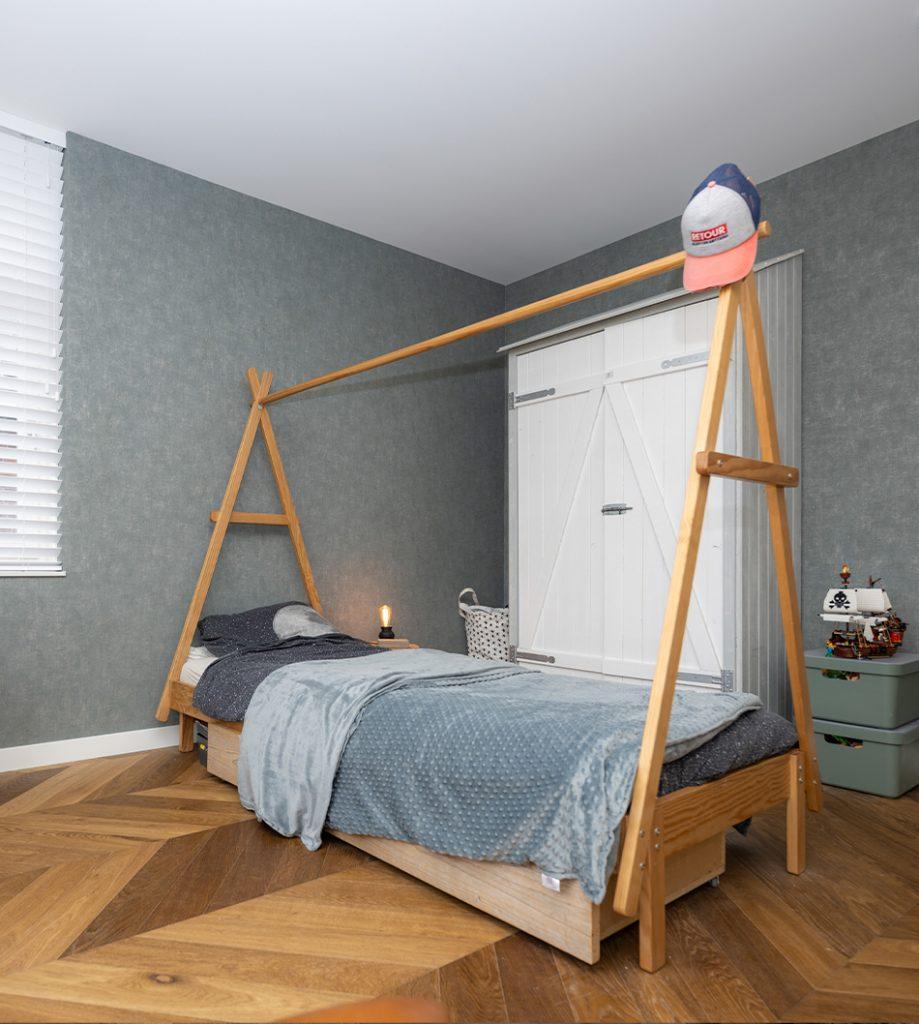 Slaapkamer 1 nieuwbouwwoning voorhout