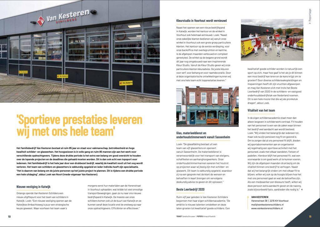 Van Kesteren Schilders in INTO Business