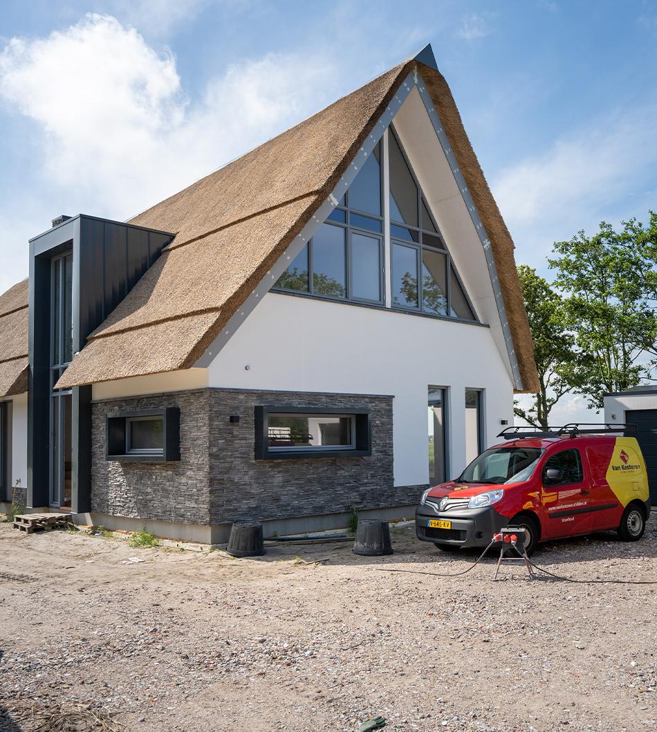 Schilderwerk Binnen En Buiten Villa Noordwijkerhout